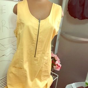 Rafaella yellow Dress.   E 890